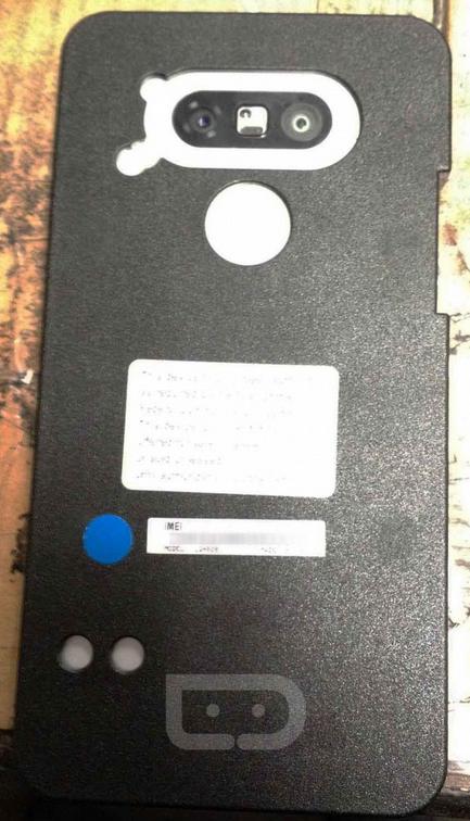 Das LG G5 in einer DummyBox