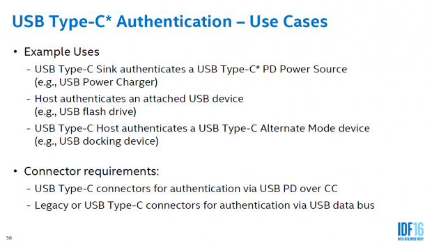 USB Type C mit neuem Authentifizierungsmodell