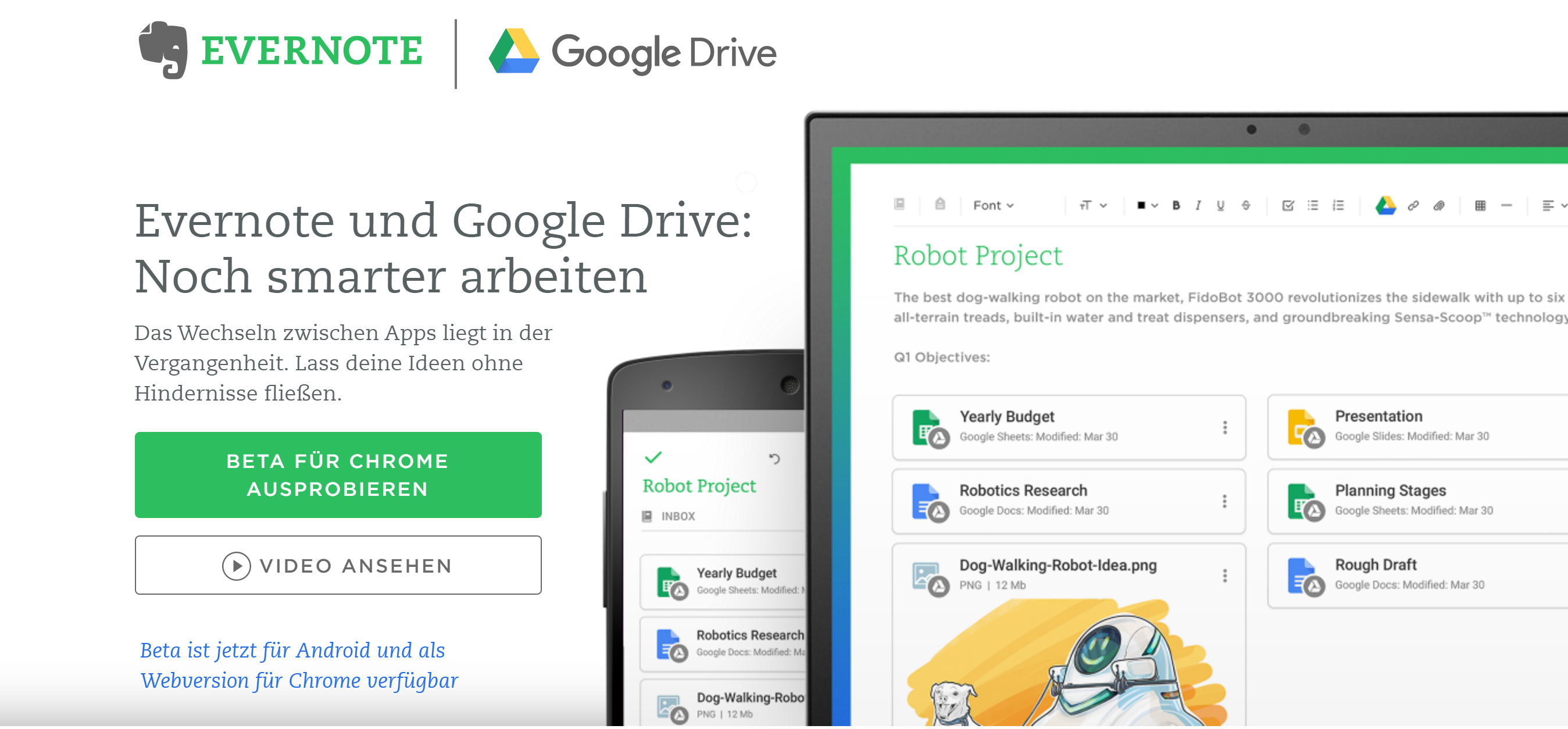 Google Drive Integration in Evernote
